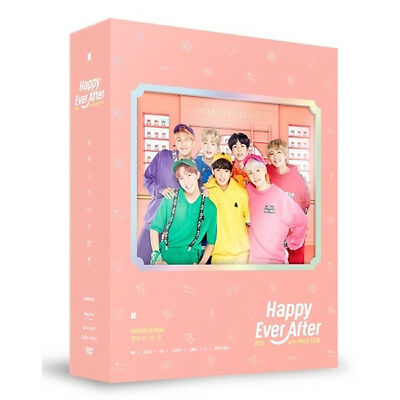 BTS 4TH MUSTER [HAPPY EVER AFTER] DVD 3CD+Photo Book+Post Card+Photo Card SEALED