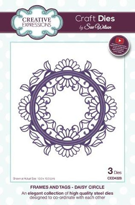Sue Wilson Frames and Tags Daisy Circle Die Set