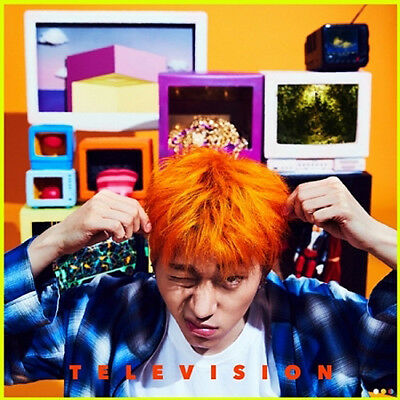 BLOCK B ZICO [TELEVISION] 2nd Mini Album CD+12p Card+Booklet+Sticker+Toy+POSTER
