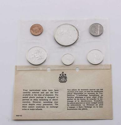 Canadian 1965 Uncirculated Silver Mint Sets In Original Packaging