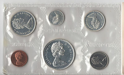 Canadian 1967 (1867 - 1967) Uncirculated Silver Mint Sets In Original Packaging