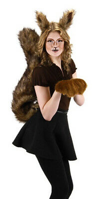 Deluxe Oversized Squirrel Tail Cosplay Halloween Costume Accessory NEW UNUSED