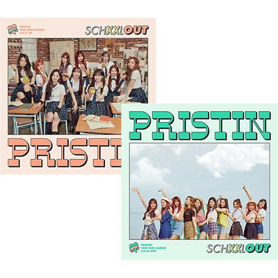 PRISTIN [SCHXXL OUT] 2nd Mini Album CD+POSTER+PhotoBook+2p Card+Sticker SEALED