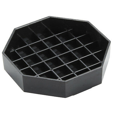 """6"""" Black Octagon Pitcher Drip Tray   FREE SHIPPING US ONLY"""