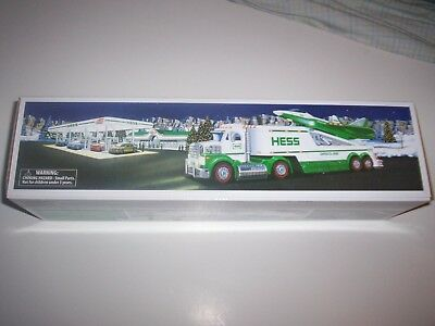 Hess 2010 Toy Truck and Jet NIB