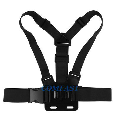 Elastic Harness Adult Chest Strap Mount for GoPro SJCAM EKEN Camera Accessory DE