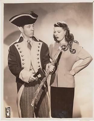 """Scene from """"The Adventures of Ozzie and Harriet"""" 2/6/45 Original TV Still"""