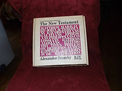 The New Testament record Alexander Scourby KJV American Bible Society braille 15