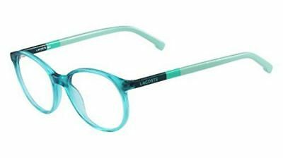 dc05576add03 LACOSTE KIDS YOUTH Eyeglasses L3619 L 3619 444 Aqua Green Optical ...