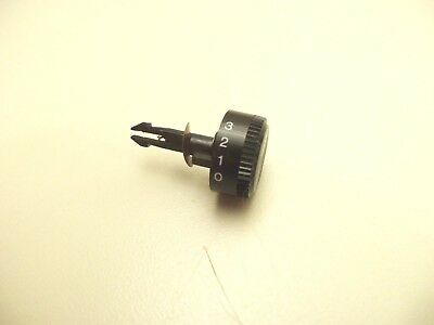 SONY PS-T1 TURNTABLE PARTS - knob - tracking force