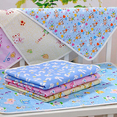 KD_ Reusable Baby Infant Diaper Urine Mat Waterproof Bedding Changing Cover No
