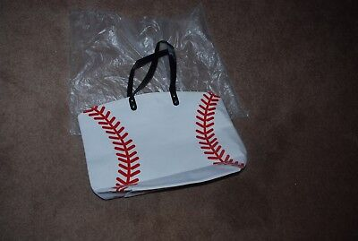 Baseball Canvas Tote Bag New