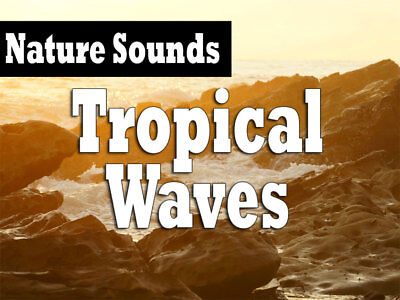 Nature Sounds: Tropical Waves Relaxation Audio CD