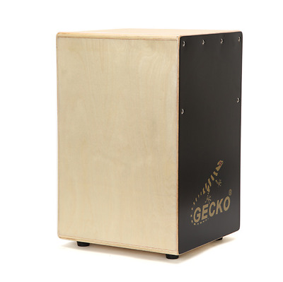Cajon Drum Box Birch Wood Acoustic Percussion Instrument Snare w/ Carry Bag NEW