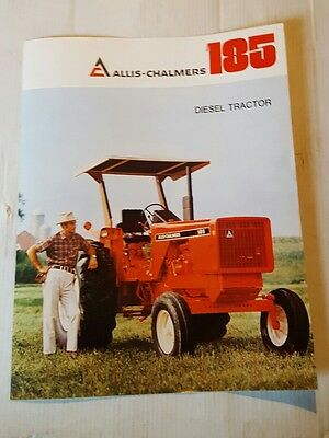 Allis-Chalmers 185 Booklet