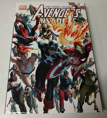 Avengers/Invaders HC Marvel! Great Condition!