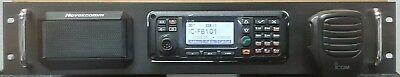 Rack Mount 2U For Icom F7101 Or F8101 With Speaker, Mike Clip & 30A Power Supply