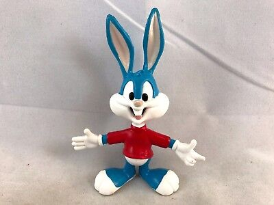 Tiny Toons Adventures Just Toys BendEms 1994 BUSTER BUNNY BENDABLE ACTION FIGURE