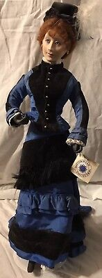 Elizabeth 1876 150th Anniversary Simthsonian Collectible Porcelain Doll