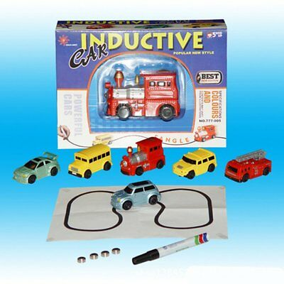 Follow Any Drawn Line Magic Pen Inductive Car Truck Model Children Kids Gift Toy