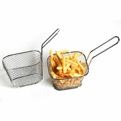 Mini Frying Net Basket Mesh Strainer French Fries Fryer Tools Food Cooking Tool