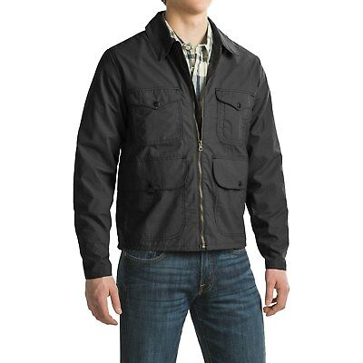 FILSON Lined Bell Bomber Jacket (Black) Brand New $325 Made in USA