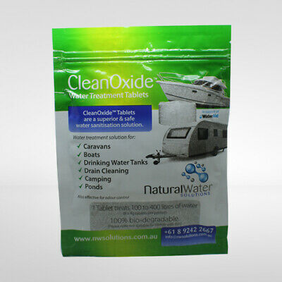 Chlorine Dioxide -  CleanOxide 4g Tablets Purify Water