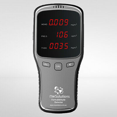5 in 1 Multi Function Air Detector (Formaldehyde) - Destroy Bacteria and Viruses