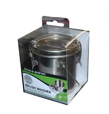Daler Rowney Simply Brush Washer Stainless Steel