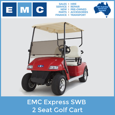 EMC Express 2 Seat Golf Electric Vehicle - BRAND NEW!