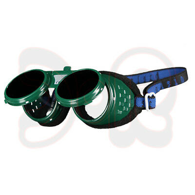 Scapp Sweat Goggles Flame, Foldable, DIN 5 Sweat Glasses Welders Goggles