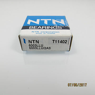 "NTN ""6003 LLU/2AS"" Bearing...New In Box"
