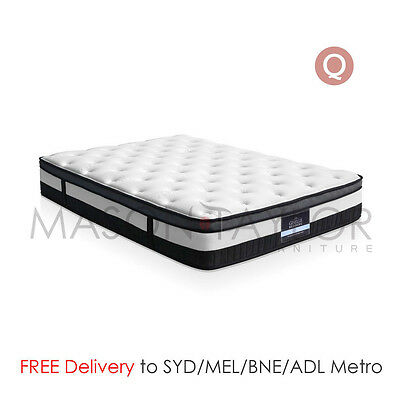 FREE DELIVERY(T&C) Bed Mattress Queen Size 5 Zone Pocket Spring Medium Firm AU