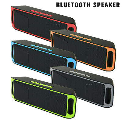 Wireless Bluetooth 3.0 Speaker USB Flash FM Radio Stereo Super Bass MP3 Player N