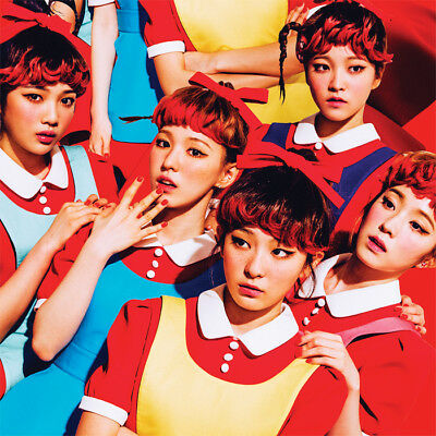 RED VELVET [THE RED] 1st Album CD+48p Photo Book+Photo Card+GIFT CARD SEALED
