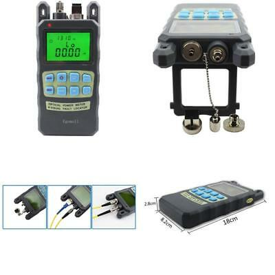Fiber Optic Cable Tester -70 to +10dbm and 1mw 3.1mi Portable Optical Power New