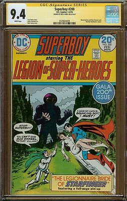 Superboy #200 CGC 9.4 Signature Series NICK CARDY