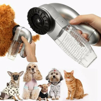 Pet Cat Dog Hair Remover Shedding Massage Grooming Brush Comb Vacuum Cleaner Hot