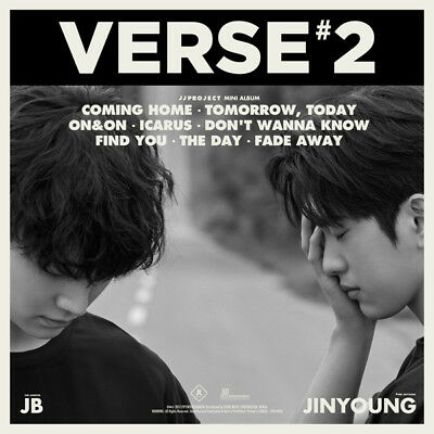 JJ PROJECT [VERSE 2] 2nd Album CD+Photo Book+3p Photo Card+Lyrics K-POP SEALED