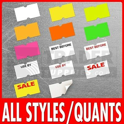Price Gun Labels 21 x 12mm CT1 MoTex Puma 22 x 12mm All Colours And Quantities