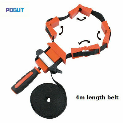 Nylon Multi-Function Binding Belt Clamp Right Polygons Angle Clip Frame Clips