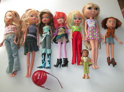 Bulk Lot Fashion 8 Dolls Talking Doll All With Clothes (B)