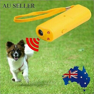 Bark Anti Device Ultrasonic Dog Barking Control Stop Repeller Trainer Train New