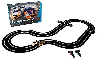 C1372 Scalextric BTCC Touring Car Battle Set Honda Civic & Bmw 125 1:32 Scale UK