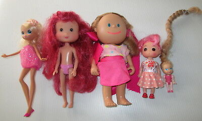 Collection of Small Dolls Pretty in Pink Doll Scented (D)