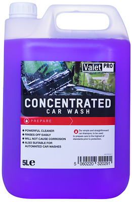 Valet Pro Concentrated Car Wash 5L