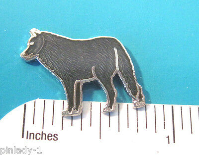 GRAY WOLF -   hat pin , lapel pin , tie tac , hatpin  GIFT BOXED