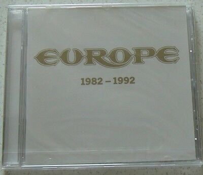 Best Of 1982 - 1992 - Europe  (Cd) Neuf Scelle