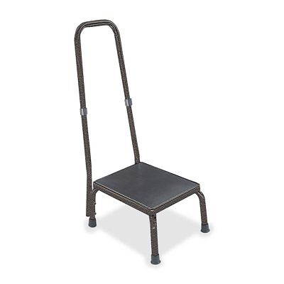 Hausmann 1-Step Foot Stool With Handrail  - HNI2030