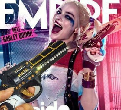new DC Comic Suicide Squad Harley Quinn Costume Cosplay Prop Gun Accessories